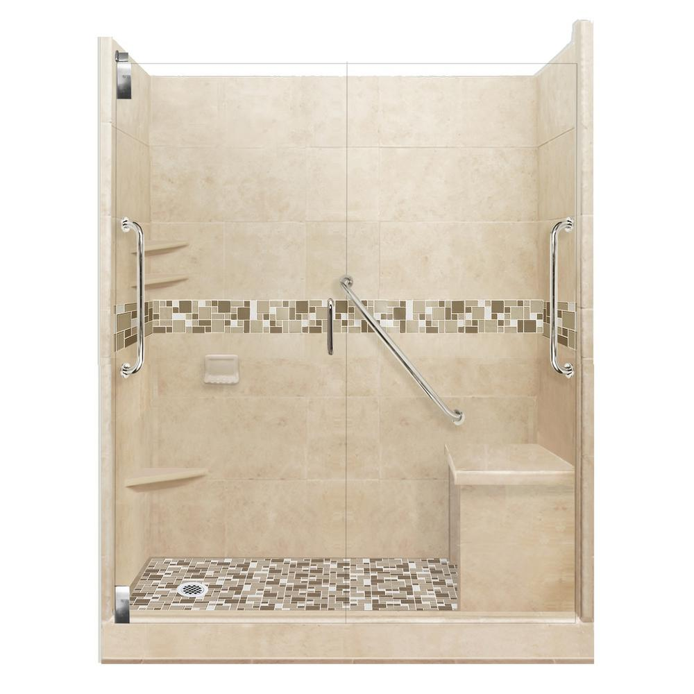 American Bath Factory Tuscany Freedom Grand Hinged 30 In