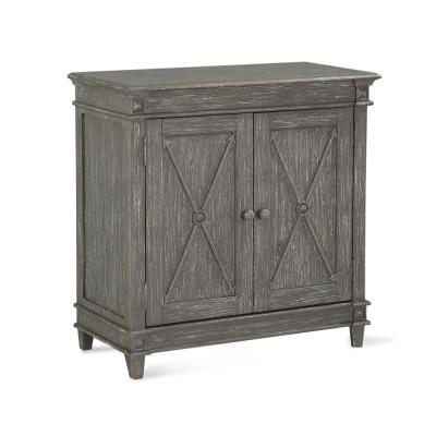 Sherwin Antique Gray Storage Cabinet