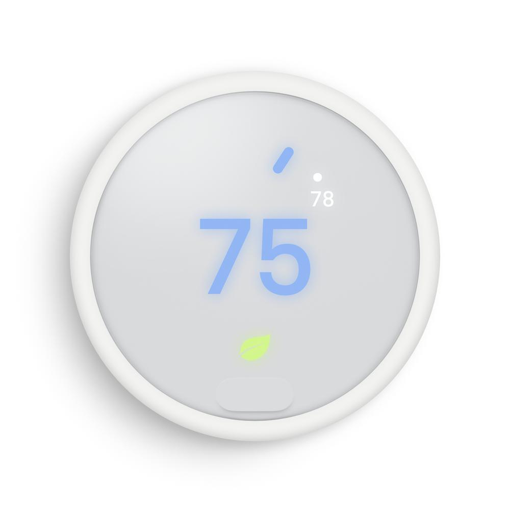Google Nest Thermostat E T4000es The Home Depot
