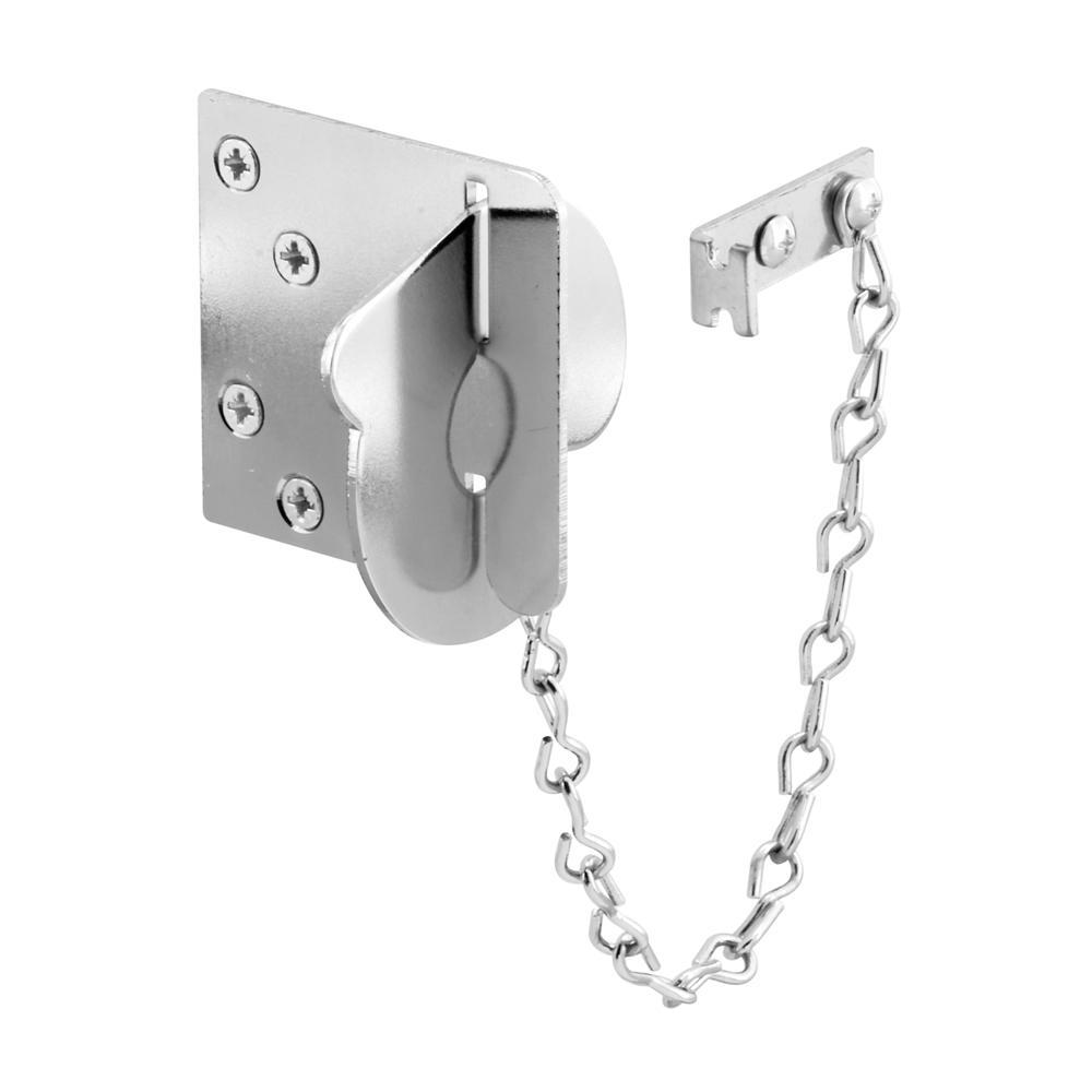 Chrome Texas Security Bolt