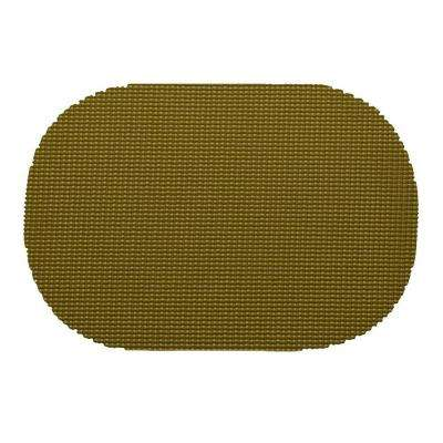Fishnet Oval Placemat in Moss (Set of 12)