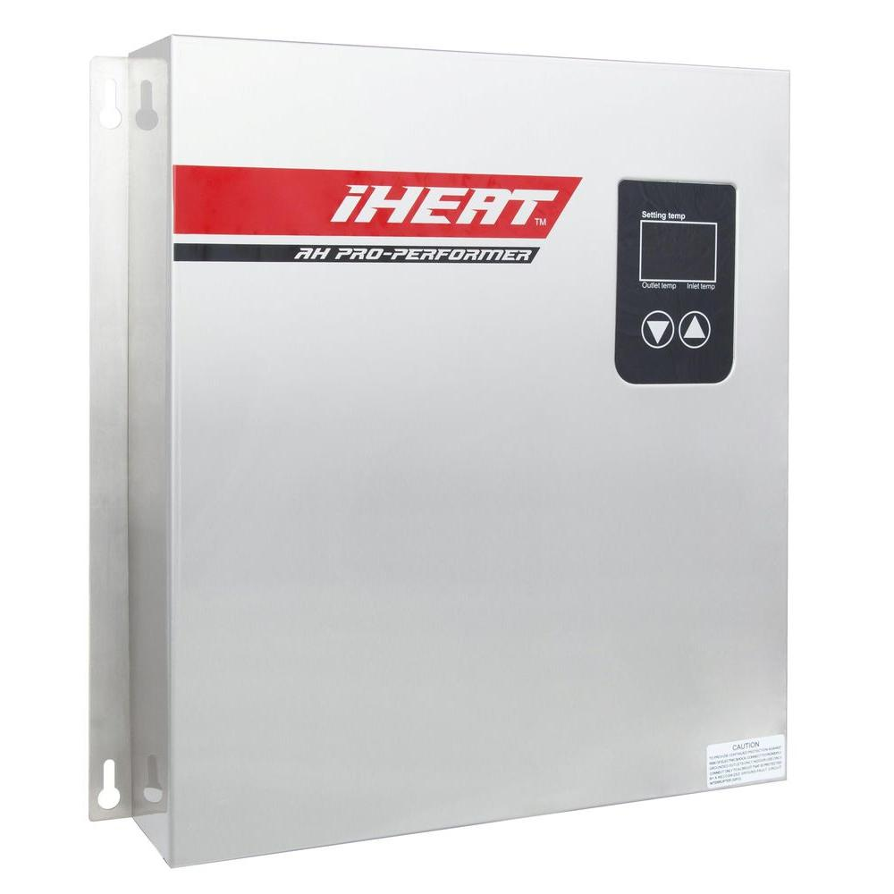 IHeat 27 kW 5.2 GPM Real-Time Modulating Electric Tankless Water Heater