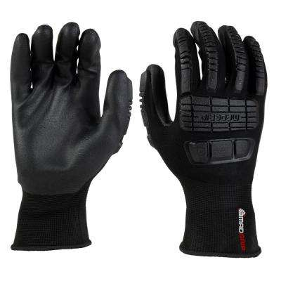 Ergo Impact Black Extra Large Glove