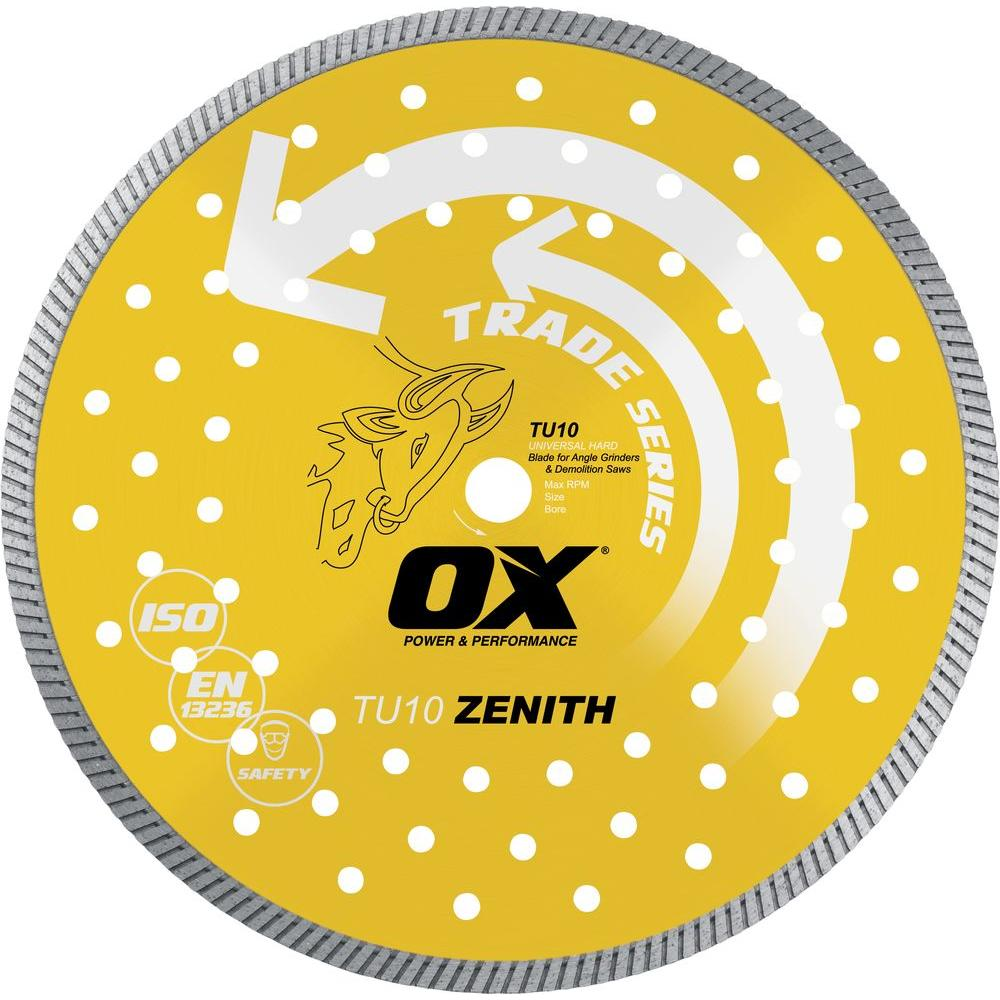 OX Trade Universal 14 in. 1 - 20 mm Bore Diamond Blade