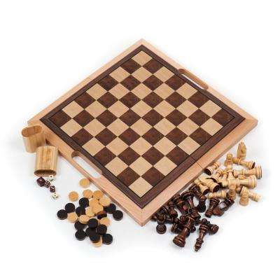 Deluxe Wooden 7-in-1 Game Set