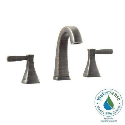 Clarice 8 in. Widespread 2-Handle Mid-Arc Bathroom Faucet in Oil Rubbed Bronze