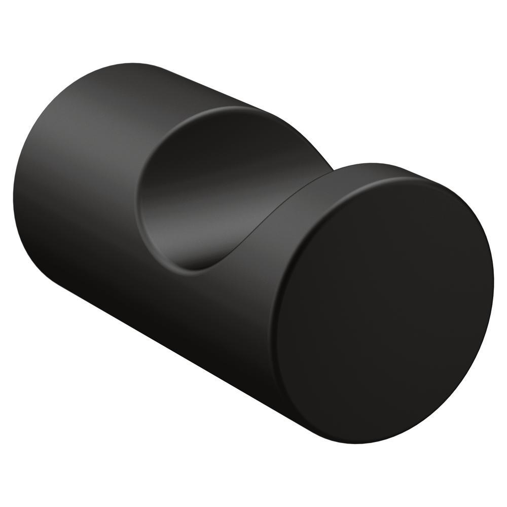 matte black moen towel hooks yb0403bl 64_1000
