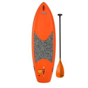 Lifetime Hooligan 8 ft. Youth Paddleboard in Orange with Paddle by Lifetime