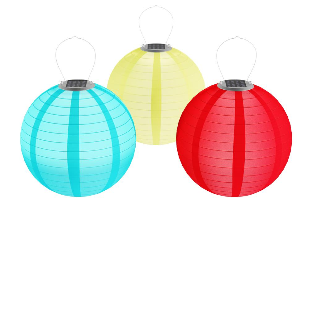 Outdoor paper lanterns led fluorescent replacement
