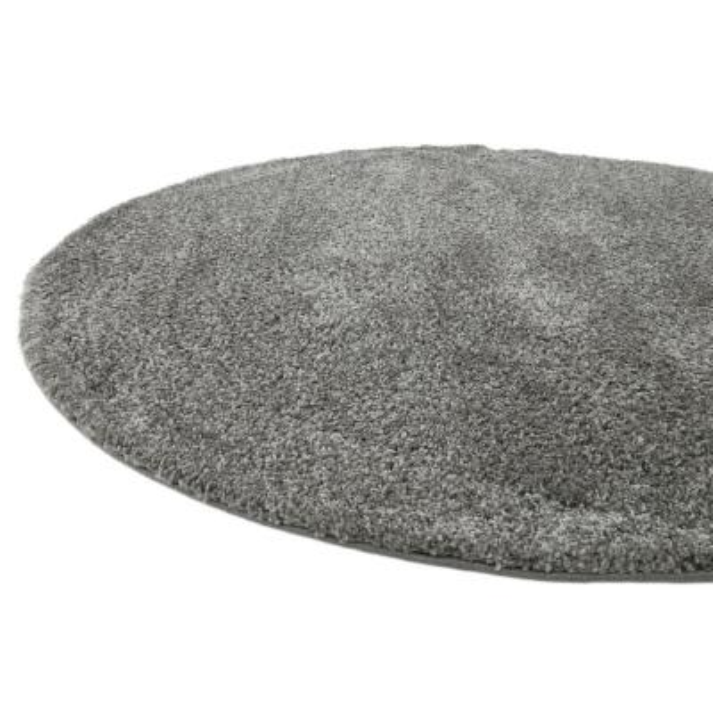 Solo Calabasas Gray 8' 0 x 8' 0 Round Rug