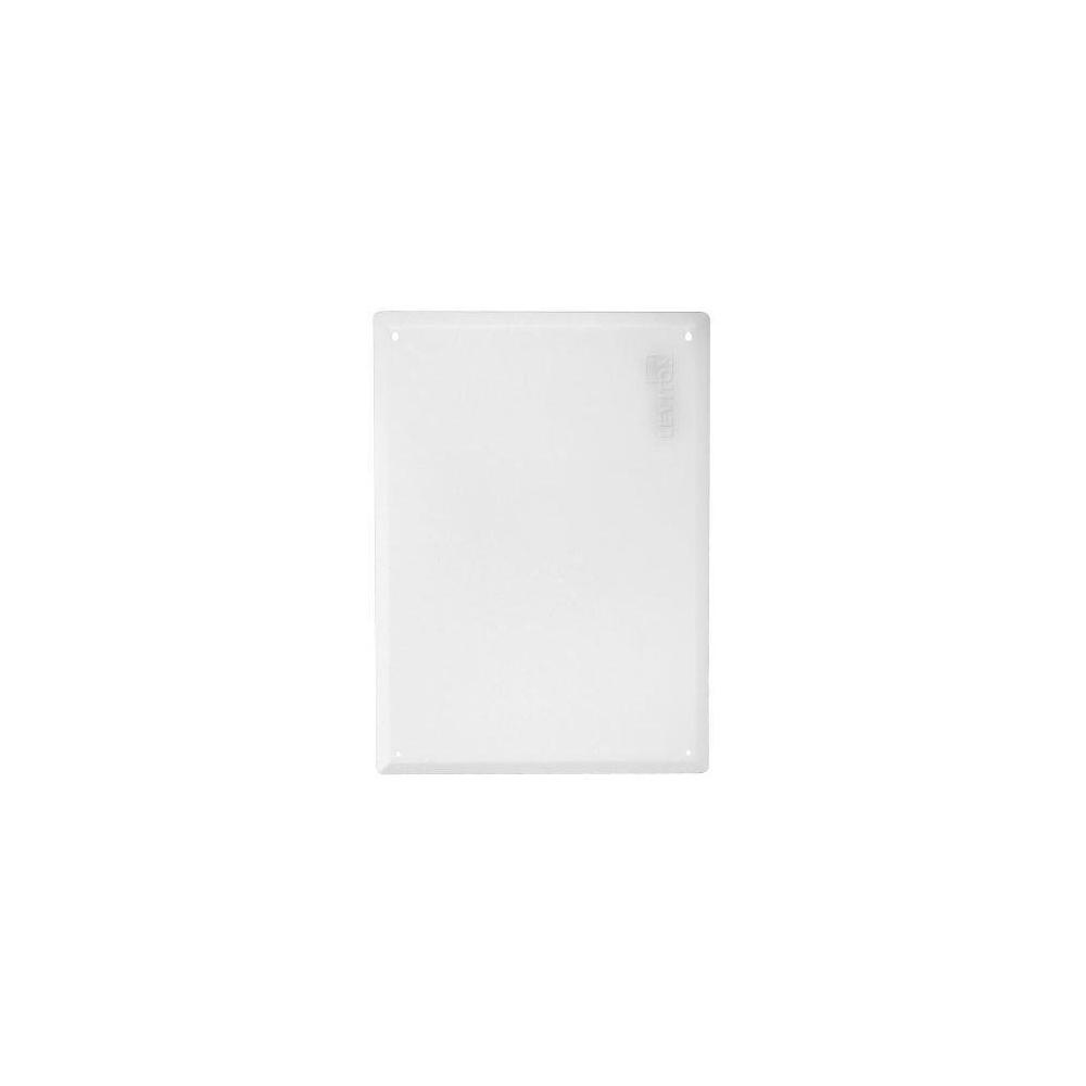21 in. Structured Media Enclosure Flush Mount Cover, White