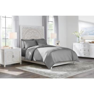 400 Thread Count Cotton Sateen Performance Duvet Set