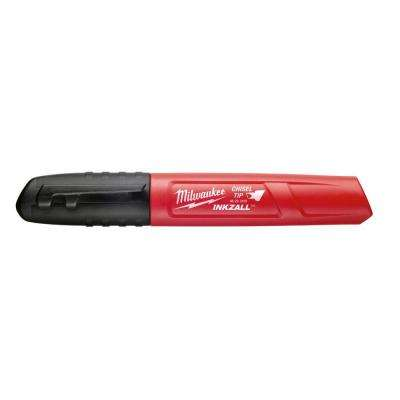 INKZALL Chisel Tip Permanent Marker