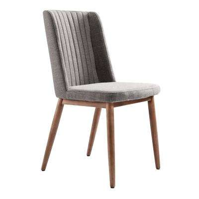 Wade Gray Fabric Dining Chair - Set of 2