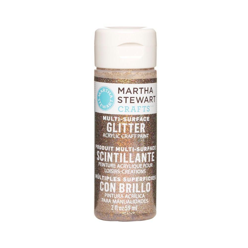 Martha Stewart Crafts 2-oz. Copper Multi-Surface Glitter Acrylic Craft Paint