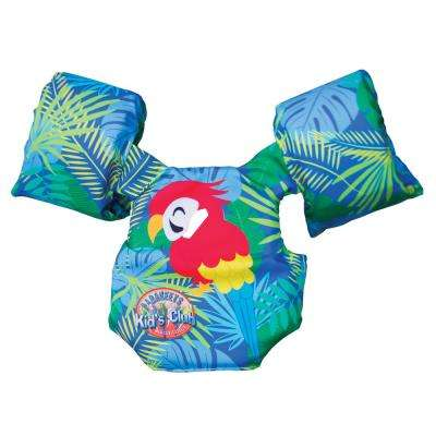 Parakeet Swim Gear Kids Float Vest, Recommended 30 lbs. to 50 lbs.