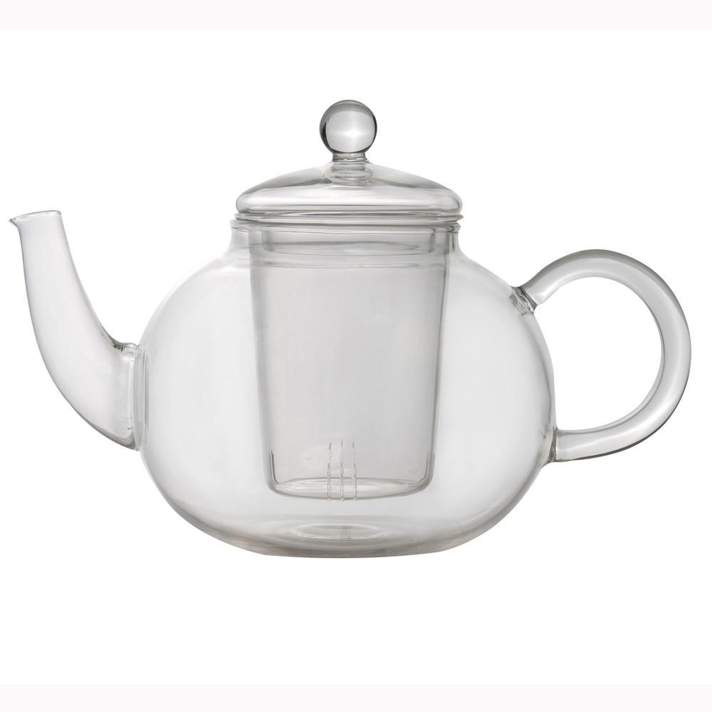 Essentials 4-Cup Glass Tea Pot