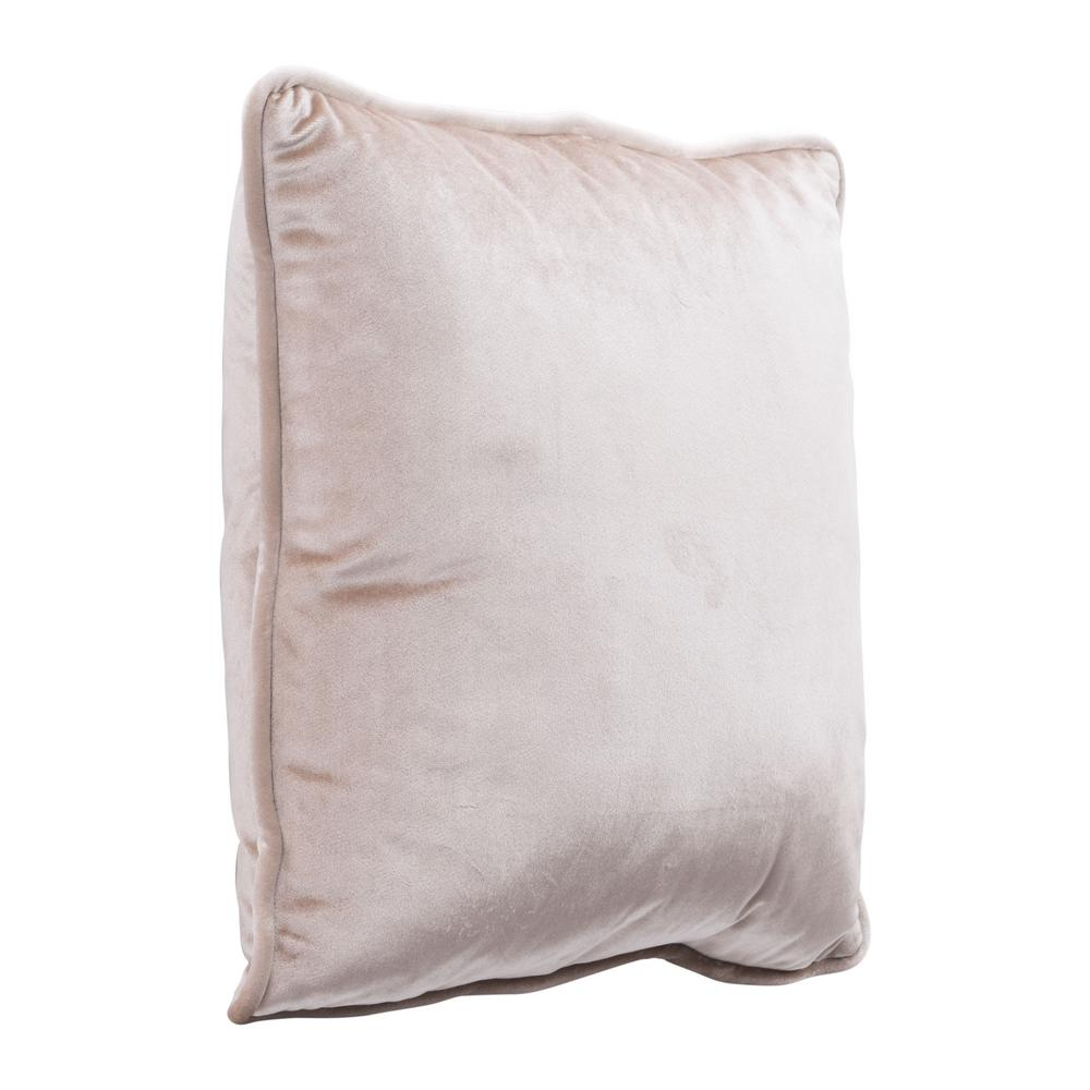 Zuo Velvet Gold Decorative Pillow A11710 The Home Depot