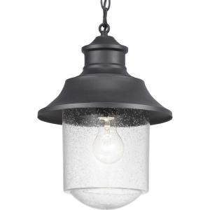 Weldon Collection Black 1-Light Hanging Lantern