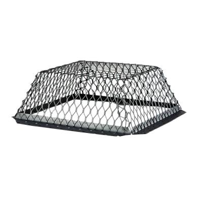 VentGuard 16 in. x 16 in. Stainless Steel Roof Wildlife Exclusion Screen in Black