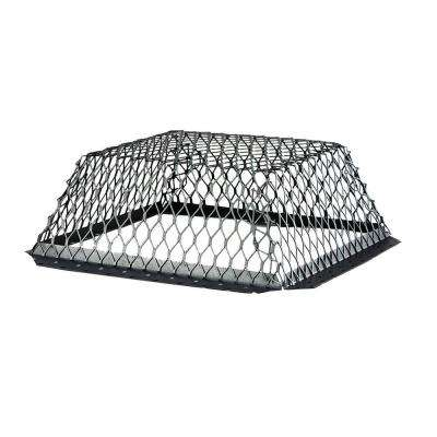 VentGuard 16 in. x 16 in. Roof Wildlife Exclusion Screen in Black