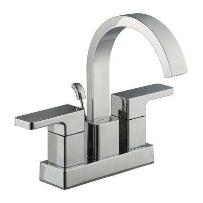 Marx 4 in. Centerset 2-Handle High-Arc Bathroom Faucet in Chrome