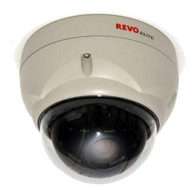 Wired Professional 700 TVL Indoor/Outdoor 22x Zoom PTZ Dome Surveillance Camera