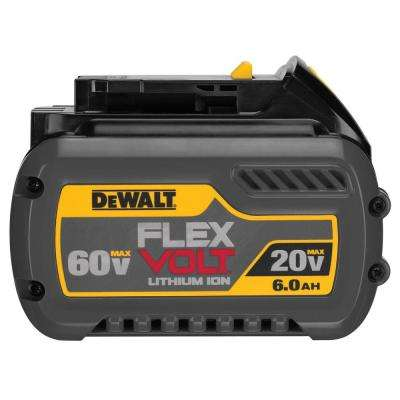 FLEXVOLT 20-Volt/60-Volt MAX Lithium-Ion Battery Pack 6.0Ah