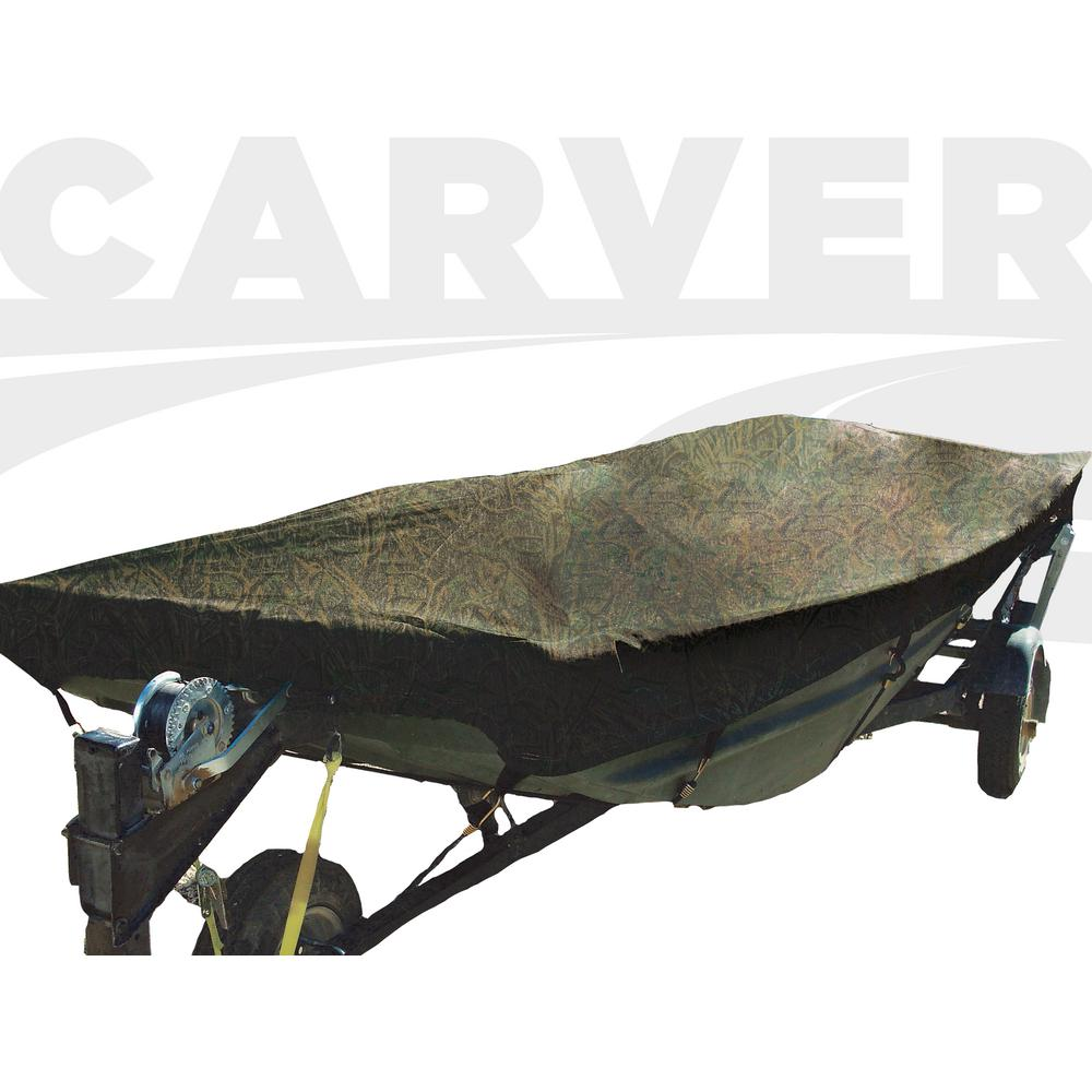Carver Covers Styled To Fit Open Jon Boat Cover With