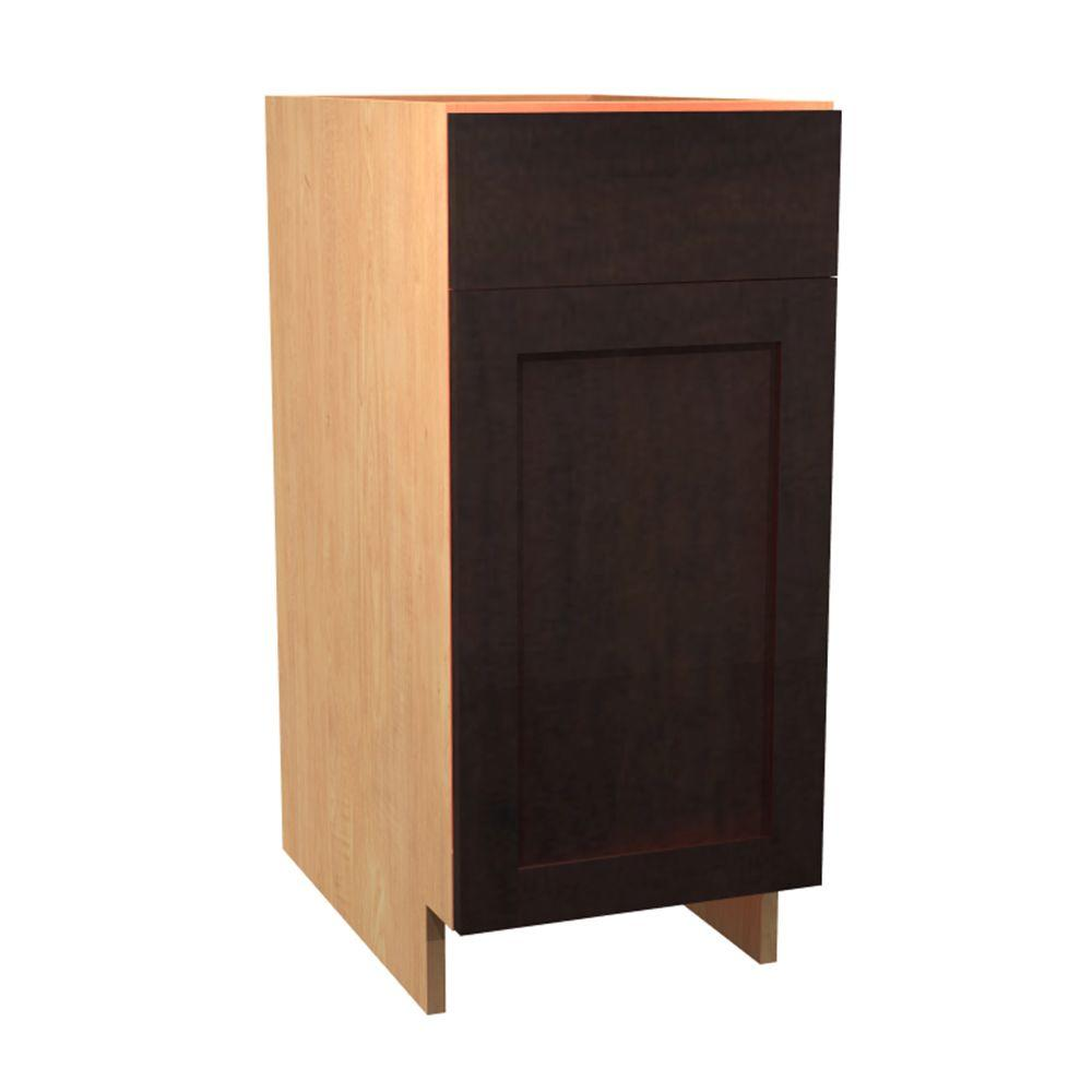 Merveilleux Home Decorators Collection 15x34.5x24 In. Elice Base Cabinet With 1 Rollout  Tray 1