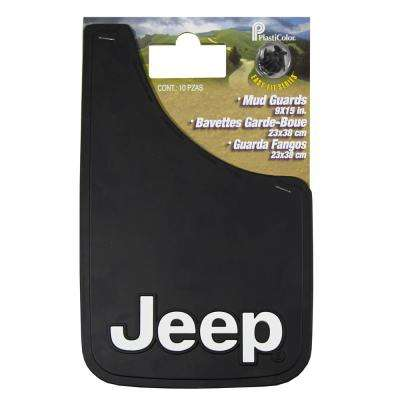 Jeep 9 in. x 15 in. Mudguard Set