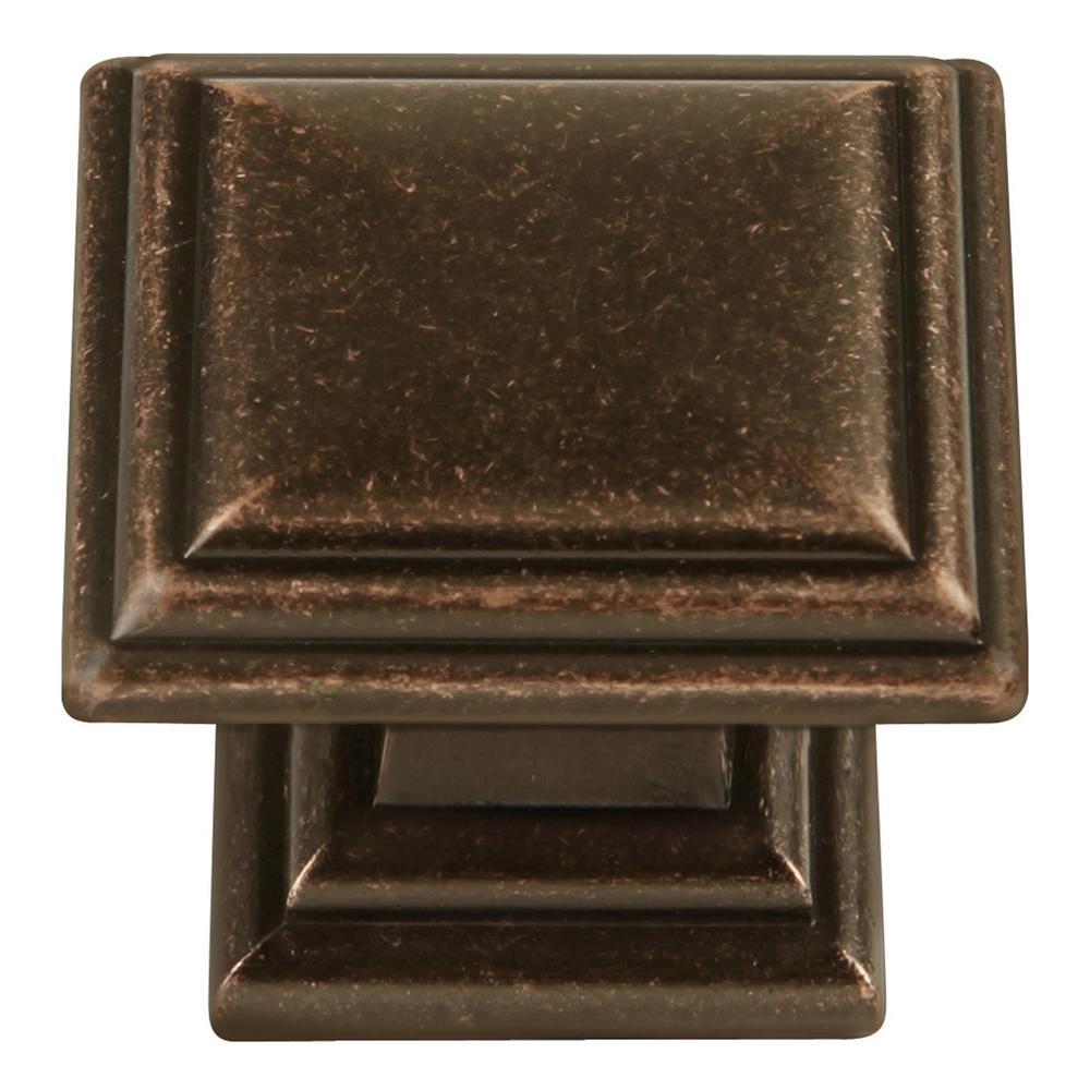 Somerset Collection 1-5/16 in. Dia Dark Antique Copper Finish Cabinet Knob