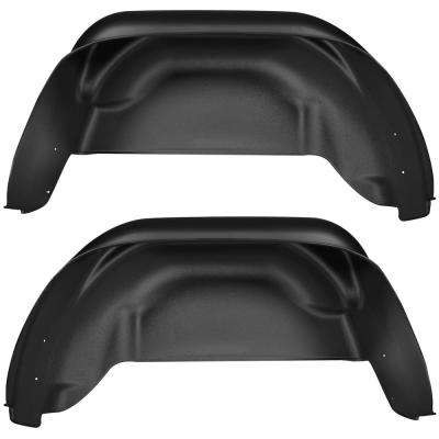 Rear Wheel Well Guards Fits 15-18 Colorado/Canyon