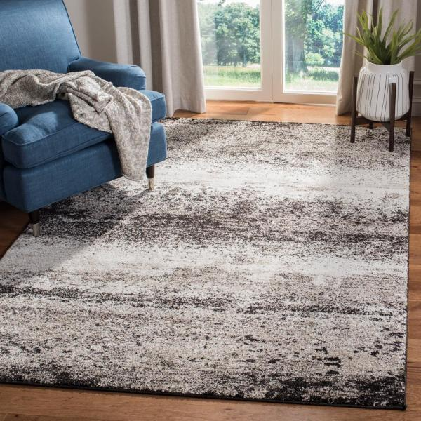 Safavieh Spirit Taupe Black 8 Ft X 10