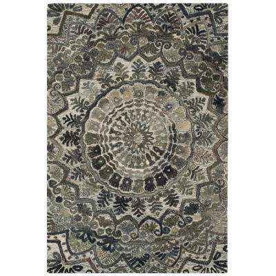 Marquee Gray/Multi 4 ft. x 6 ft. Area Rug