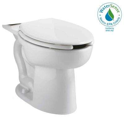Cadet Tall Height Pressure-Assisted 1.6 GPF/1.1 GPF Elongated Toilet Bowl Only in White