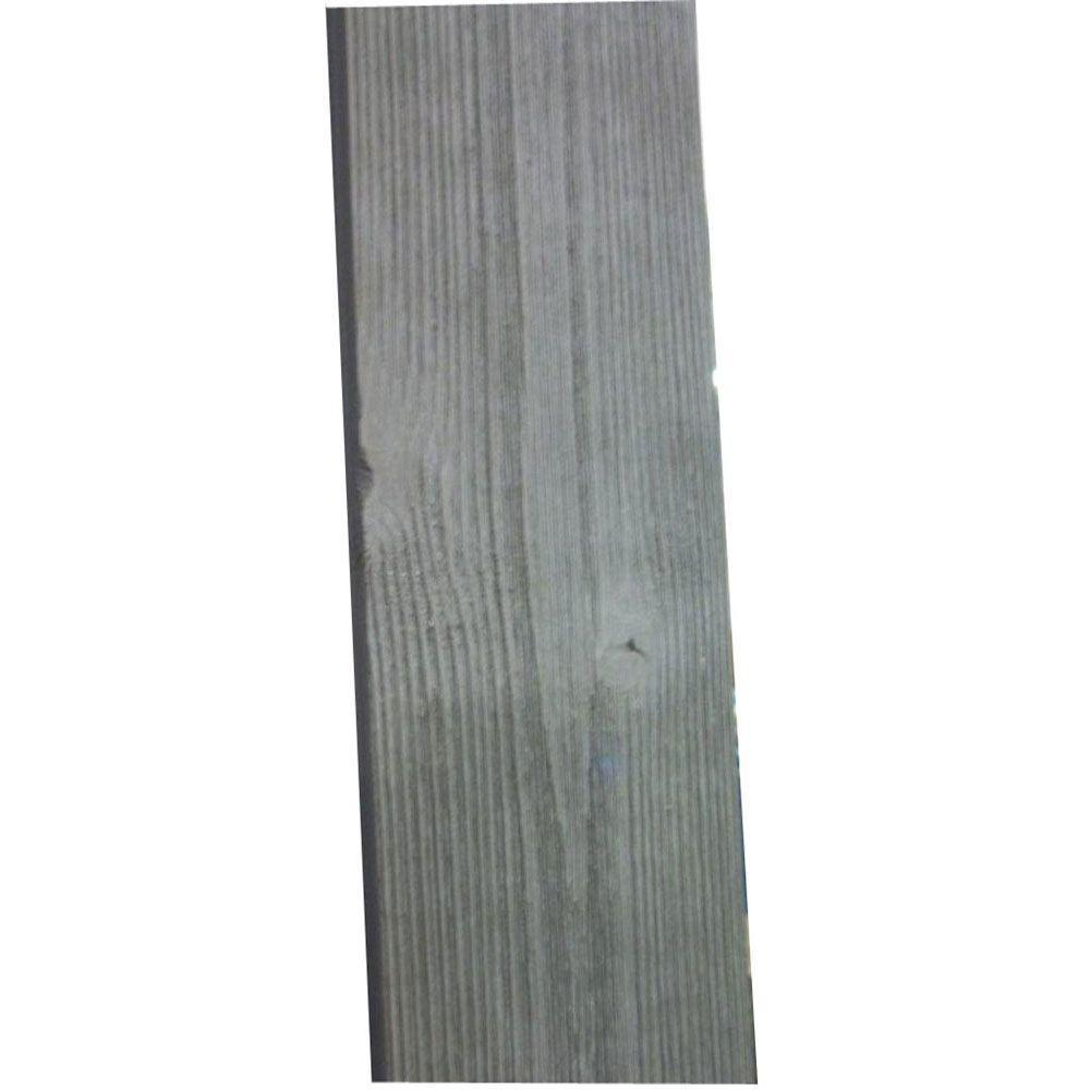 1 In X 4 In X 8 Ft Barn Wood Grey Pine Trim Board 6