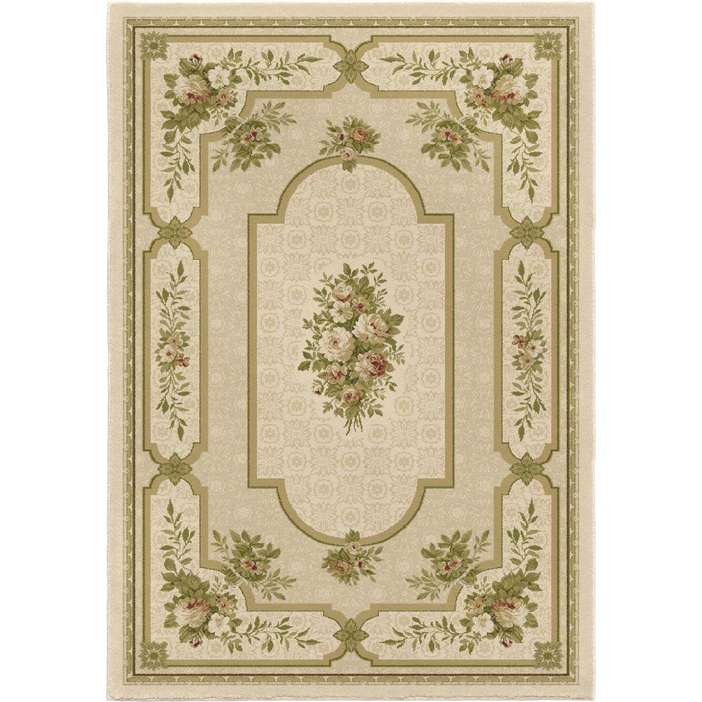 Orian Rugs Aaron Bisque 1 ft. 11 in. x 6 ft. Accent Rug