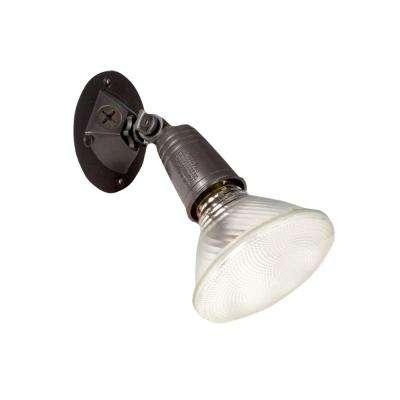 150-Watt Bronze Outdoor PAR Single-Head Security Flood Light