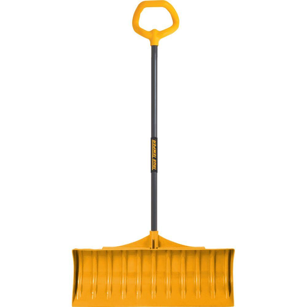 True Temper 30 in. Snow Shovel with Wood Handle