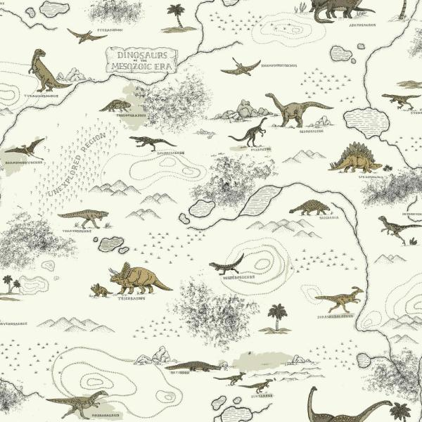 York Wallcoverings Brothers and Sisters V Mesozoic Era Wallpaper SB7744