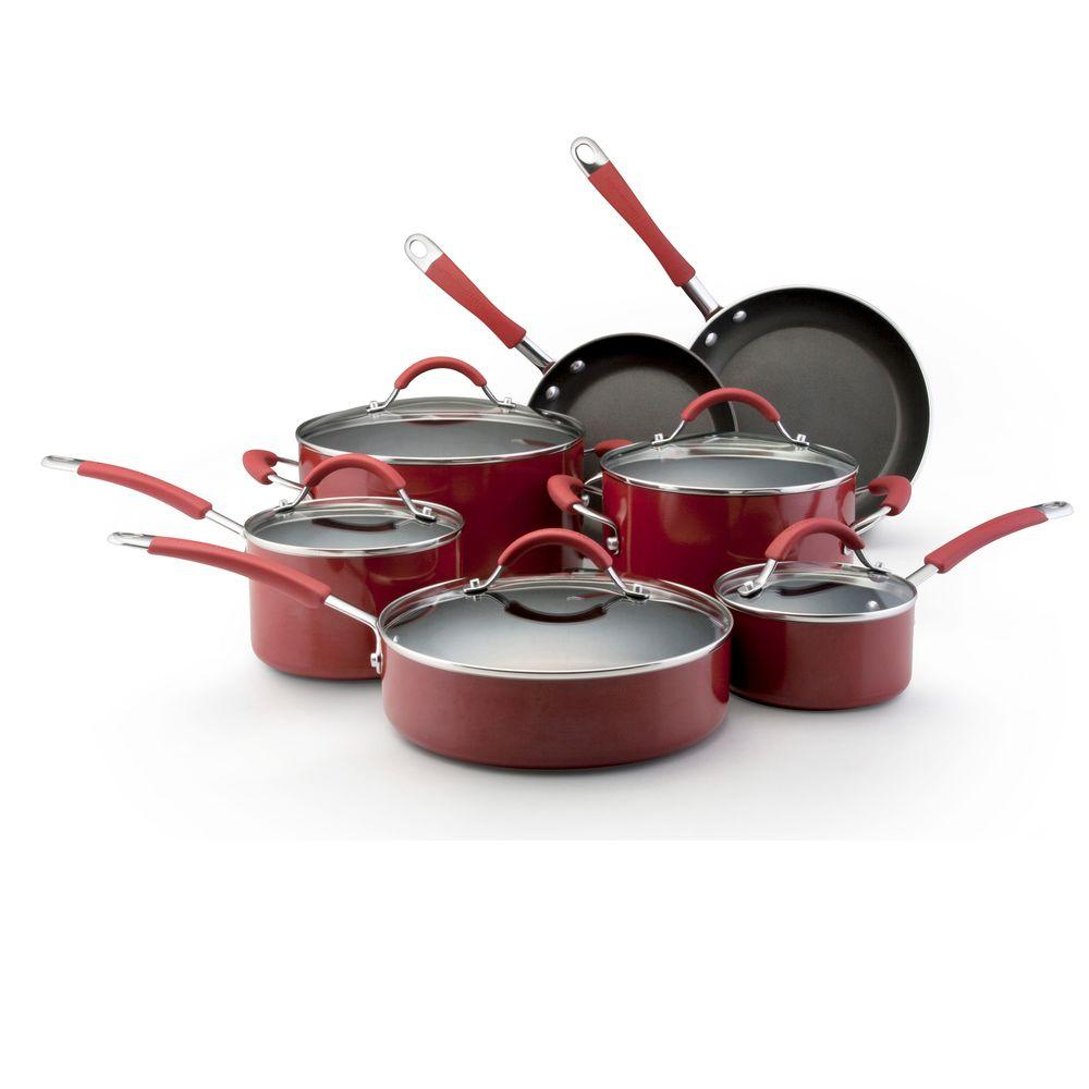 KitchenAid 12-Piece Porcelain Cookware Set-DISCONTINUED