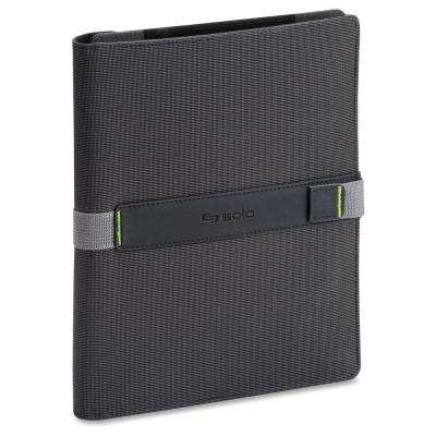 8.5 in. to 11 in. Storm Universal Fit Black Tablet Case Book Fold