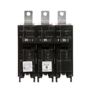 35 Amp Triple-Pole Type BLH 22 kA Bolt-On Circuit Breaker