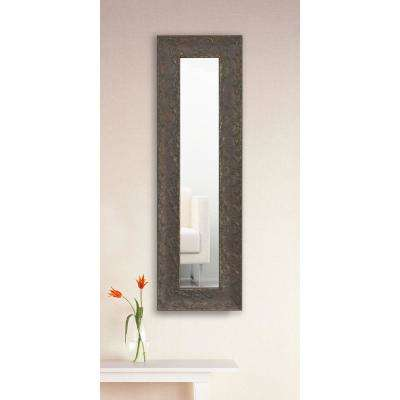 26 in. x 10 in. Maclaren Brown Vanity Mirror Single Panel