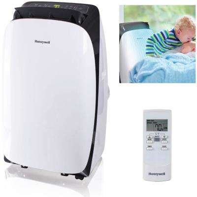 HL Series 10,000 BTU, 115-Volt Portable Air Conditioner with Dehumidifier and Remote Control in White and Black