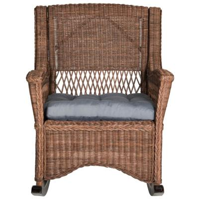 Aria Brown Accent Chair