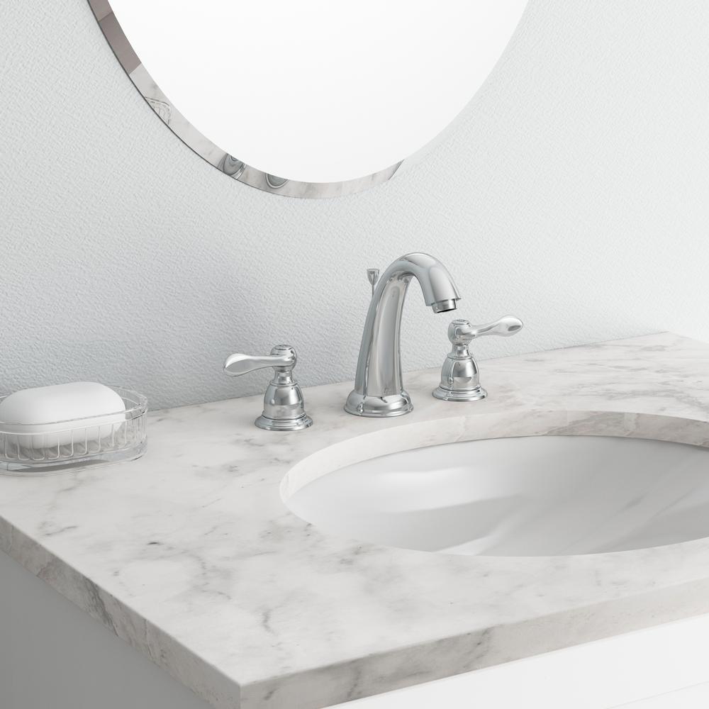 Delta Faucet Windemere 2 Handle Widespread Bathroom Faucet With Metal Drain Assembly Chrome B3596lf Tools Home Improvement Bathroom Sink Faucets Fcteutonia05 De