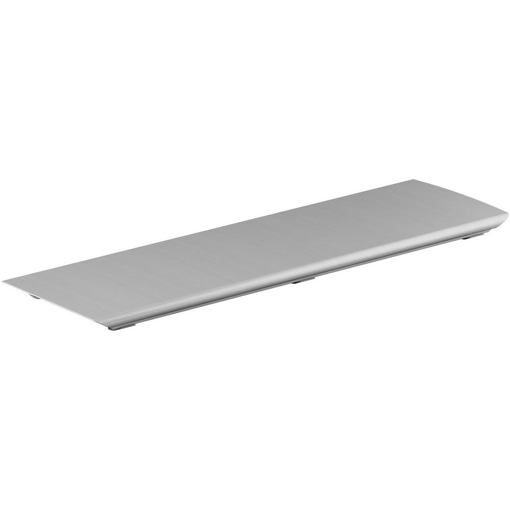 Bellwether 60 in. Aluminum Drain Cover in Brushed Nickel