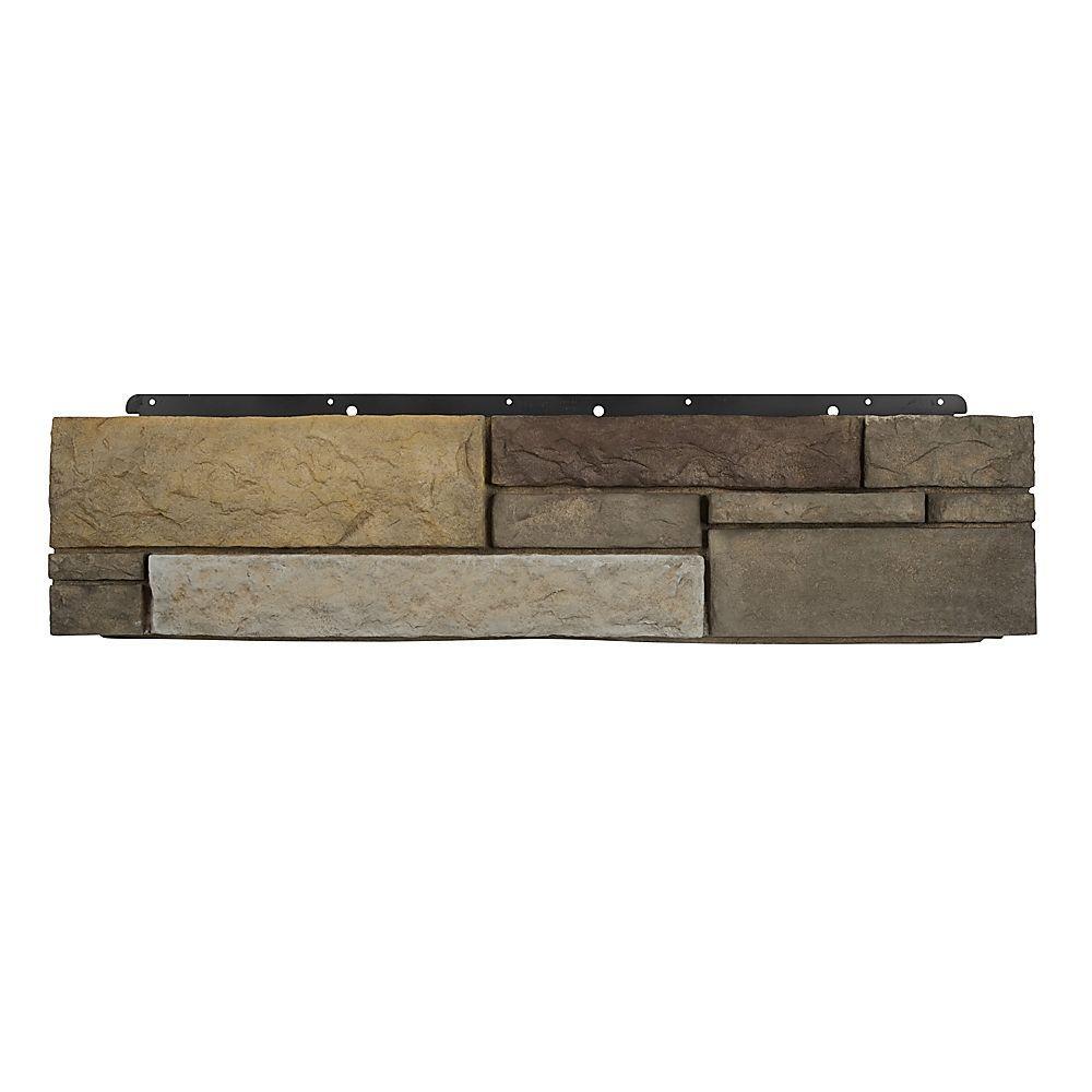 Boral 8 in. x 36 in. Versetta Stone Tight-Cut Corner Sterling Siding (6-Bundles Per Case), Multi-Colored -  4210705